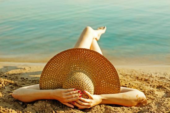 3 astuces pour lacher prise sur sa serviette de plage