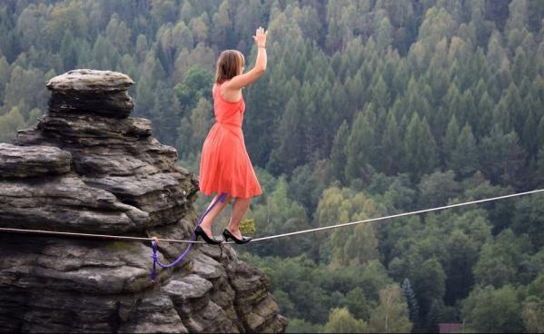 L equilibriste faith dickey2