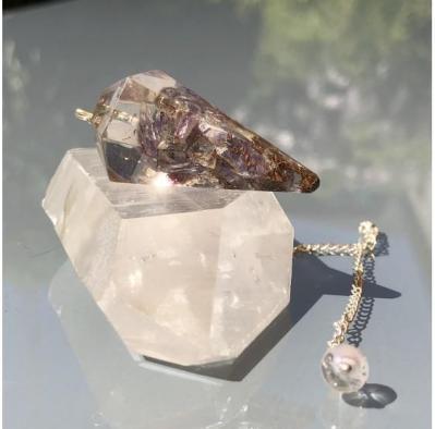 Pendule minereaux